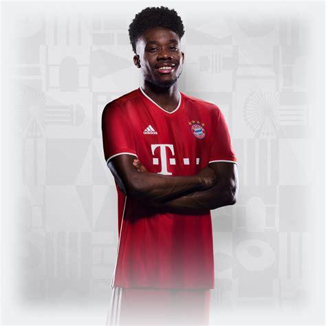 alphonso davies trikot die nummer  im fc bayern fanshop