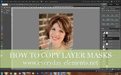 How To Copy Layer Masks In Photoshop Elements Via