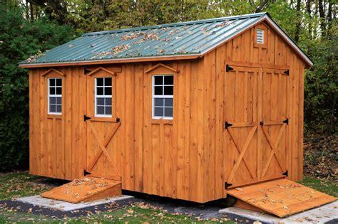 amish storage sheds treatment of wood amish sheds inc