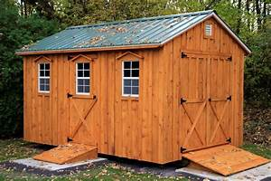 treatment of wood amish sheds inc With amish outbuildings