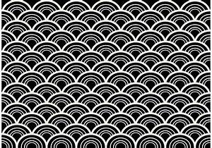 Black and White Seamless Abstract Pattern Vector ...