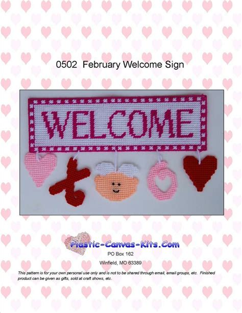 february  sign valentines day hearts xo plastic