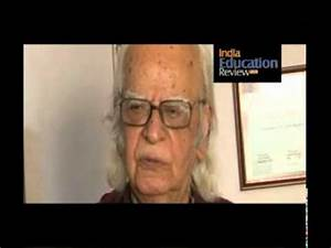 Interview of Professor Yash Pal, Chancellor of Jawaharlal ...