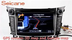 2011 2012 2013 Hyundai I30 In Dash Radio Dvd Gps