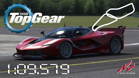Fxx Top Gear by Assetto Corsa 2015 Fxx K Top Gear Test Track