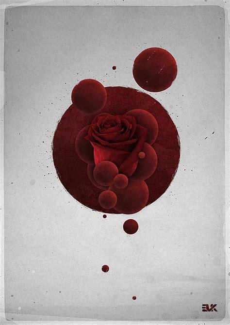 roses artwork  maxime quoilin