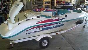 Lot 1316a 1995 Sea Doo Sportster Jet Boat 657x Engine