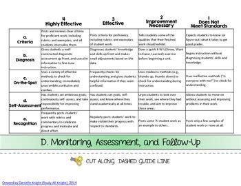 kim marshall teacher evaluation flip book domains