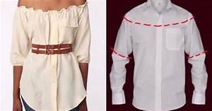Transformer Ses Vetements : 10 fa ons de transformer les chemises d 39 hommes en des v tements pour femmes laquelle de ces ~ Melissatoandfro.com Idées de Décoration