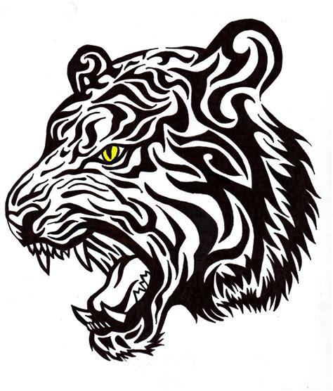 Tiger Tribal Tattoo Designs Deviantart More Like Tribal