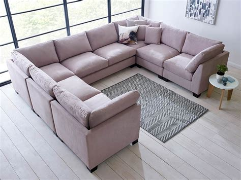 u shaped sectional isabelle u shape sectional living it up
