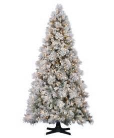 hallmark flocked artificial tree tree classics