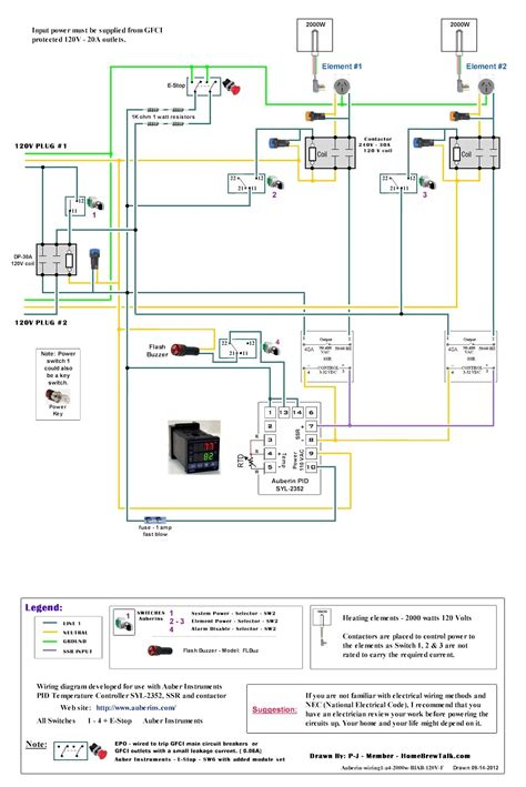 Plumbing Diagram For Brewing by 120v Dual Element Wiring Diagram Home Brew Forums