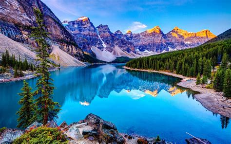 landscape  lake  mountains hd desktop