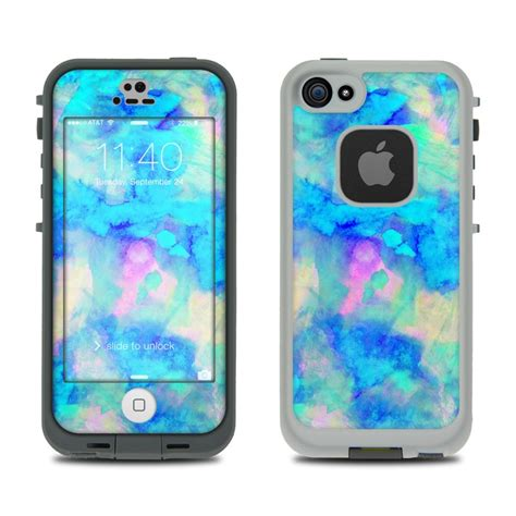 iphone 5s lifeproof cases lifeproof iphone 5s fre skin electrify blue by