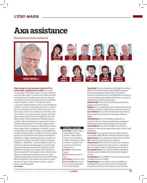 axa iard si e social etat major axa assistance 2015 la tribune de l 39 assurance