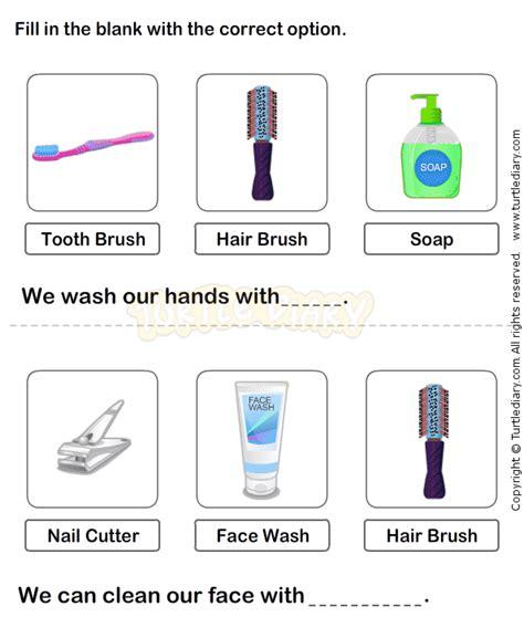 personal hygiene worksheet 14 science worksheets grade