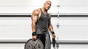 Wallpaper The Rock, Dwayne Johnson, Weights, Workout, 4K ...