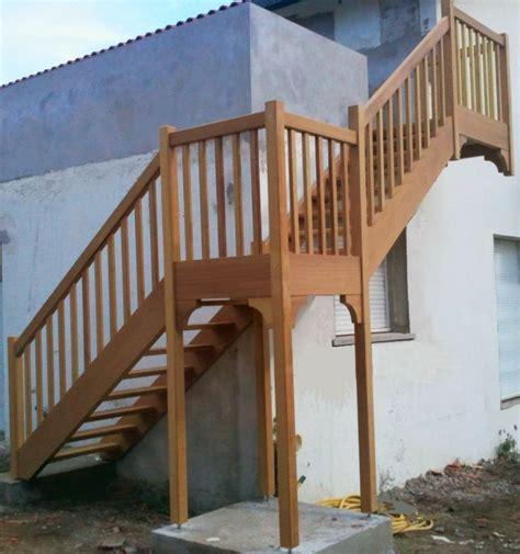 escalier exterieur vente d escaliers et gardes corps en bois pays basque cote escalier
