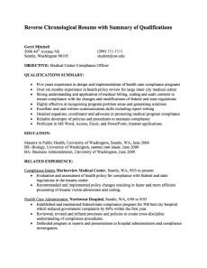 Non Traditional Resume Definition by Chronological Resume Definition Format Layout 103