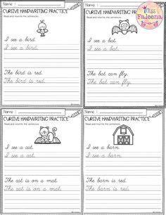 cursive handwriting practice  images