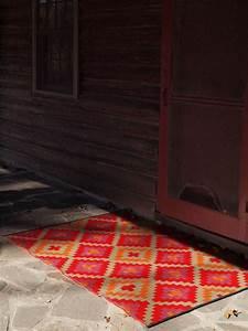 Tapis Intérieur Extérieur : tapis int rieur ext rieur saman orange et violet 150 x 90 cm ~ Teatrodelosmanantiales.com Idées de Décoration