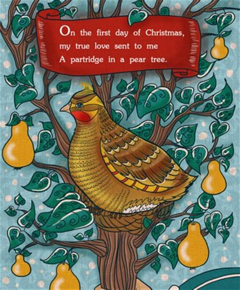 twelve days of christmas a partridge in a pear tree