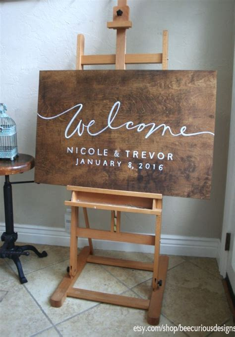 Image result for wooden wedding welcome sign | Wedding ...