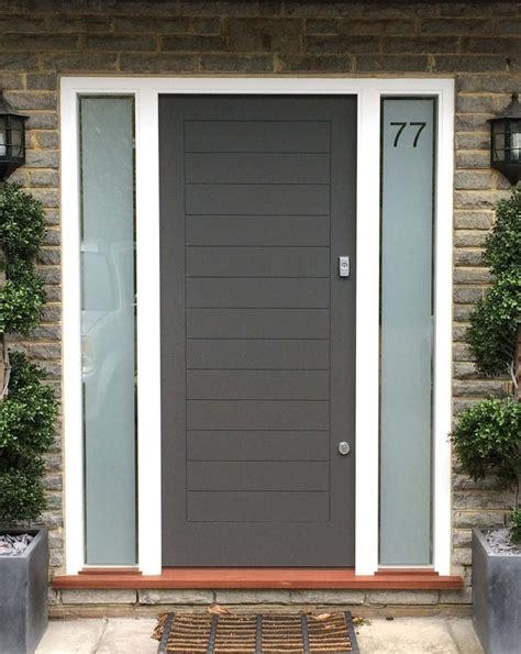 modern front doors contemporary front doors london