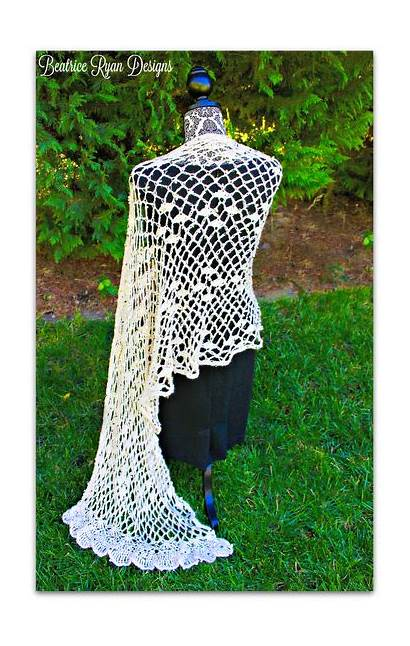 Crochet Patterns Shawls Beatriceryandesigns Shawl