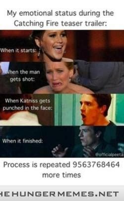 Catching Fire Meme - hunger games memes dusty crabtree