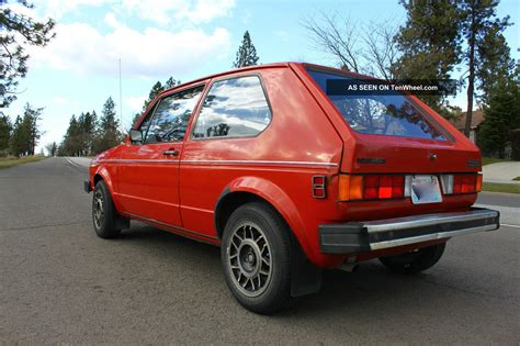 volkswagen rabbit 1981 vw rabbit
