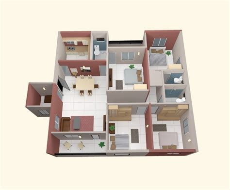 Small Four Bedroom House Plans Pictures by 4 Bedroom Apartment House Plans