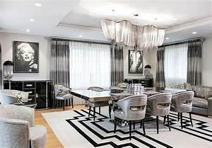 Glamour styl bydlení