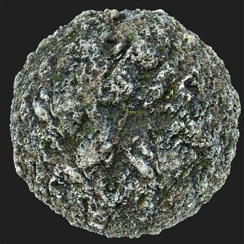 ArtStation - Mossy Rock Material Pack | Resources