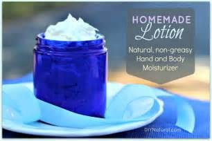 Natural Homemade Body Lotion