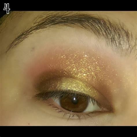 sunset eye makeup    create  sunburst eye