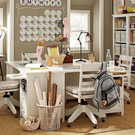 teen study desk study space inspiration for