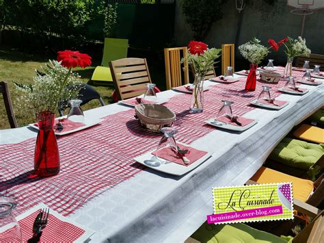 deco table champetre chic