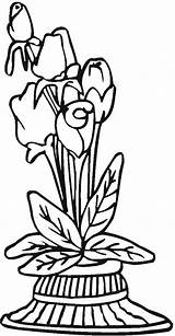 Vases Vase Coloring Printable Pottery Adult Colorpagesformom Coloringpages sketch template