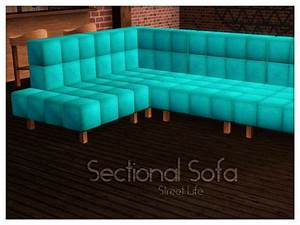 kiolometro39s sectional sofa street life With sectional sofa sims 4
