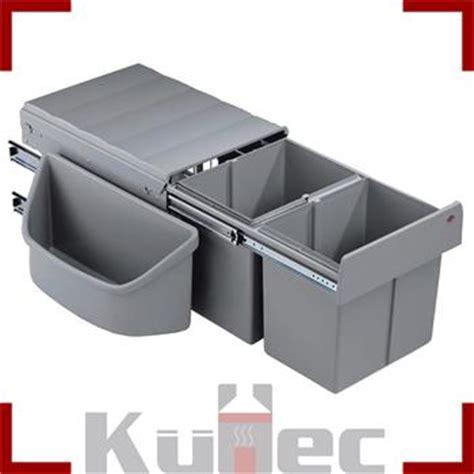 eckschränke küche abfalleimer 2 x 16 l wesco einbau mülleimer 32 l eckschränke vollauszug küche
