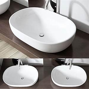 Aufsatzwaschbecken 60 Cm : aufsatzwaschbecken erm glichen flexiblen individuellen wasseranschluss ~ Indierocktalk.com Haus und Dekorationen