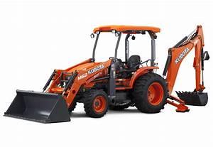 Tractors - Tractor Loader Backhoe