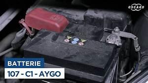Batterie Citroen C1 : changer la batterie sur peugeot 107 citro n c1 toyota aygo youtube ~ Melissatoandfro.com Idées de Décoration