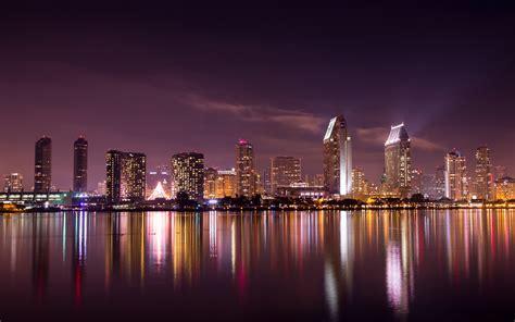 Skyline Background 2048x1152 San Diego Skyline 2048x1152 Resolution Hd 4k