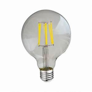 Ampoule Led Filament : ampoule led e27 g95 filament 8w 4000 k ~ Teatrodelosmanantiales.com Idées de Décoration