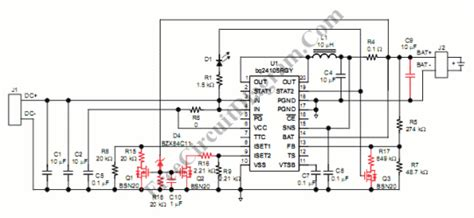 Switch Mode Lead Acid Battery Charger Circuit Wiring