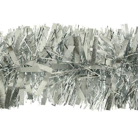 kraftz 174 thick chunky christmas tree tinsel garland 2m 6