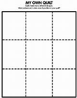 Quilt Coloring Own Pages Crayola Preschool Pattern Paper Quilts Squares Letter Many Crafts Activities Designs Colored Square Patterns Craft Block sketch template